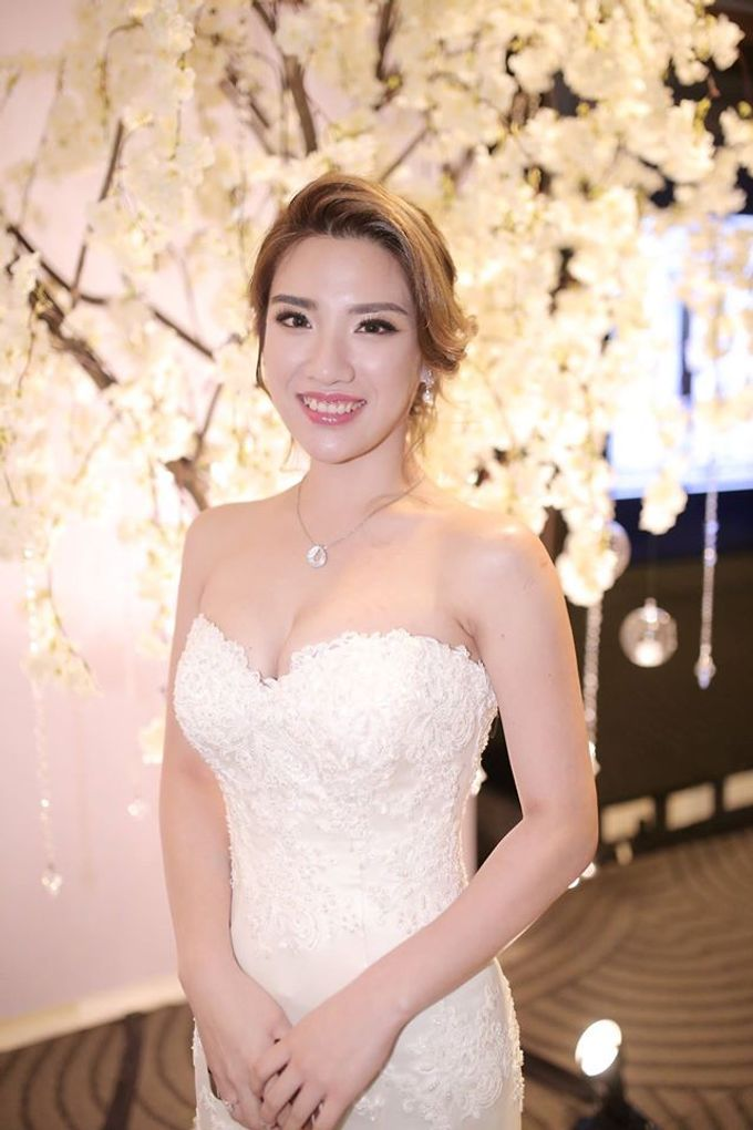 Bride Jamie Tan by Gelly Wee Makeup Studio - 001