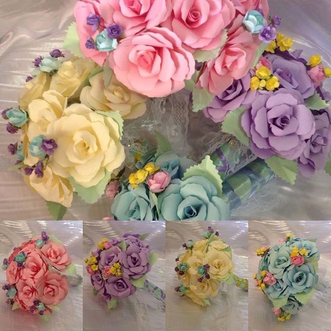 Handcrafted Bouquets and Wedding Accessories  by Duane's Fleur Creatif - 011