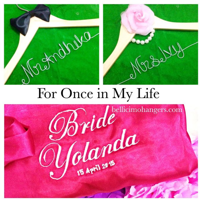 Couple Package by Bellicimo Hangers by Béllicimo Personalized Hanger & Favors - 011