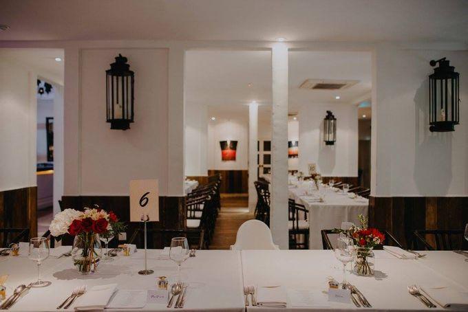 Solemnization / Reception Table / Wedding Venue Decoration by Petite Fleur SG - 016