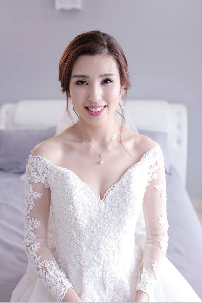 Bride  Christine Chan by Gelly Wee Makeup Studio - 001