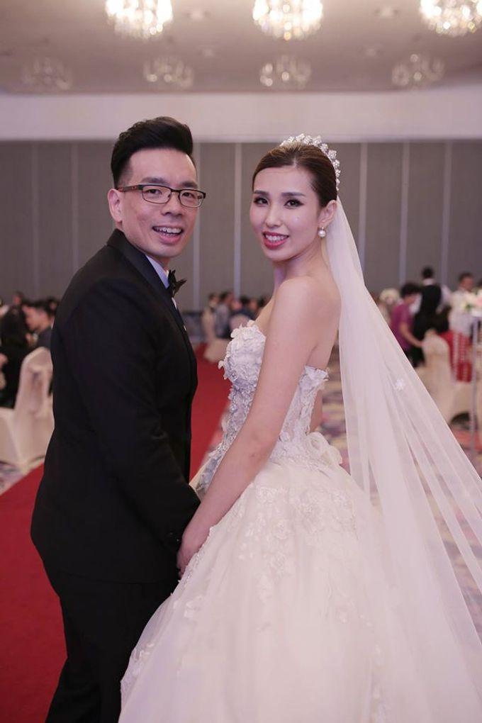 Bride  Christine Chan by Gelly Wee Makeup Studio - 002