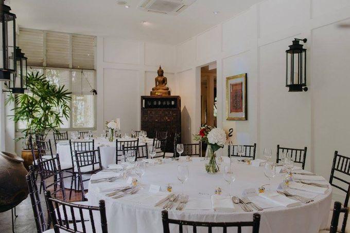 Solemnization / Reception Table / Wedding Venue Decoration by Petite Fleur SG - 017