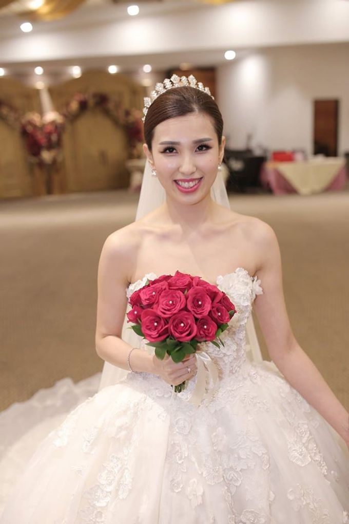 Bride  Christine Chan by Gelly Wee Makeup Studio - 003