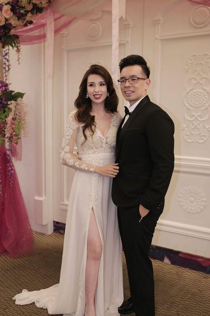 Bride  Christine Chan by Gelly Wee Makeup Studio - 004