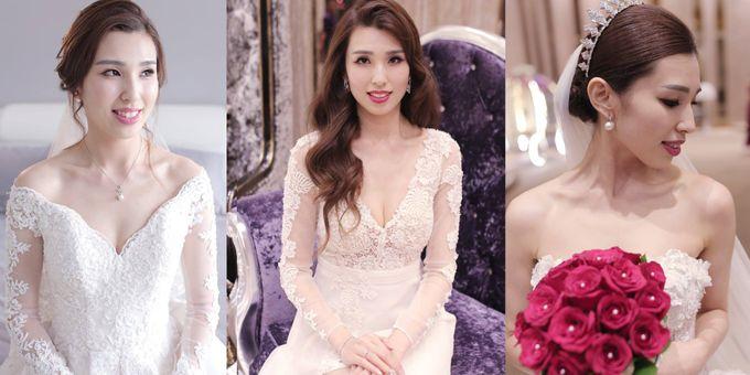 Bride  Christine Chan by Gelly Wee Makeup Studio - 005