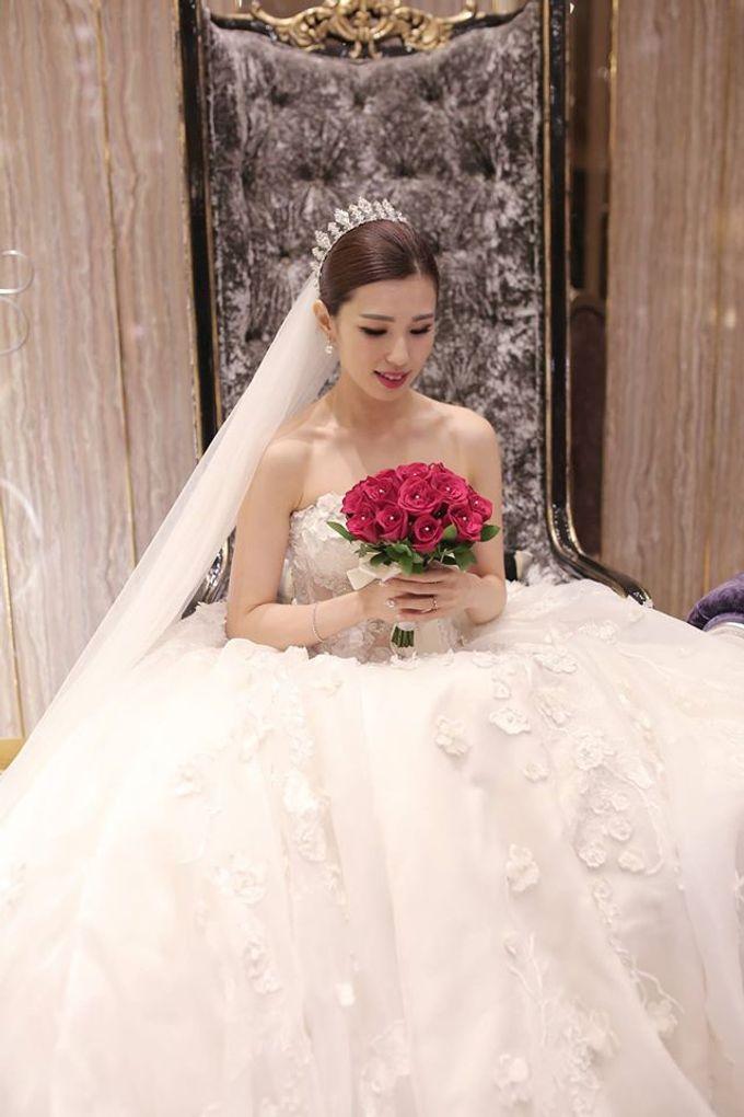 Bride  Christine Chan by Gelly Wee Makeup Studio - 006
