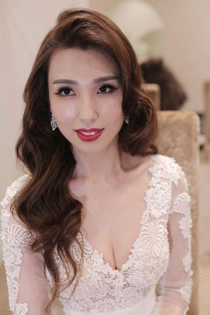 Bride  Christine Chan by Gelly Wee Makeup Studio - 007
