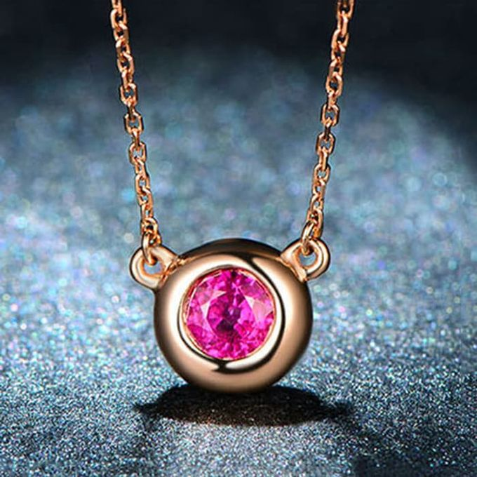 Magnificent TIARIA Ruby Necklace Kalung Emas Ruby by TIARIA - 002