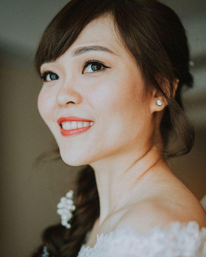 Romantic Braids by Makeup Maestro Weddings - 002