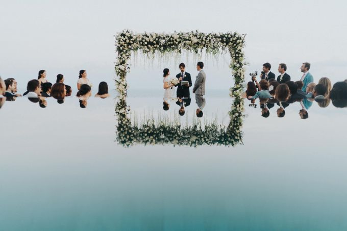 CA & Sebastian Wedding by THE UNGASAN CLIFFTOP RESORT BALI - 003