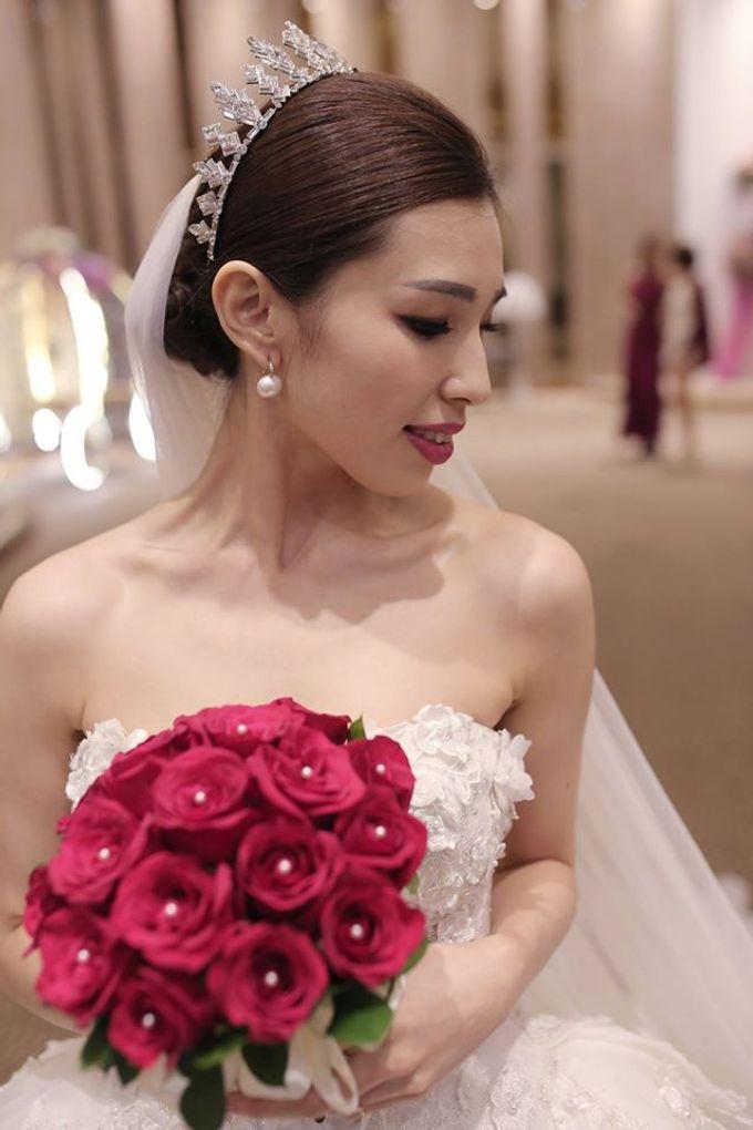 Bride  Christine Chan by Gelly Wee Makeup Studio - 009