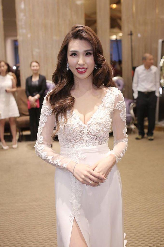 Bride  Christine Chan by Gelly Wee Makeup Studio - 010