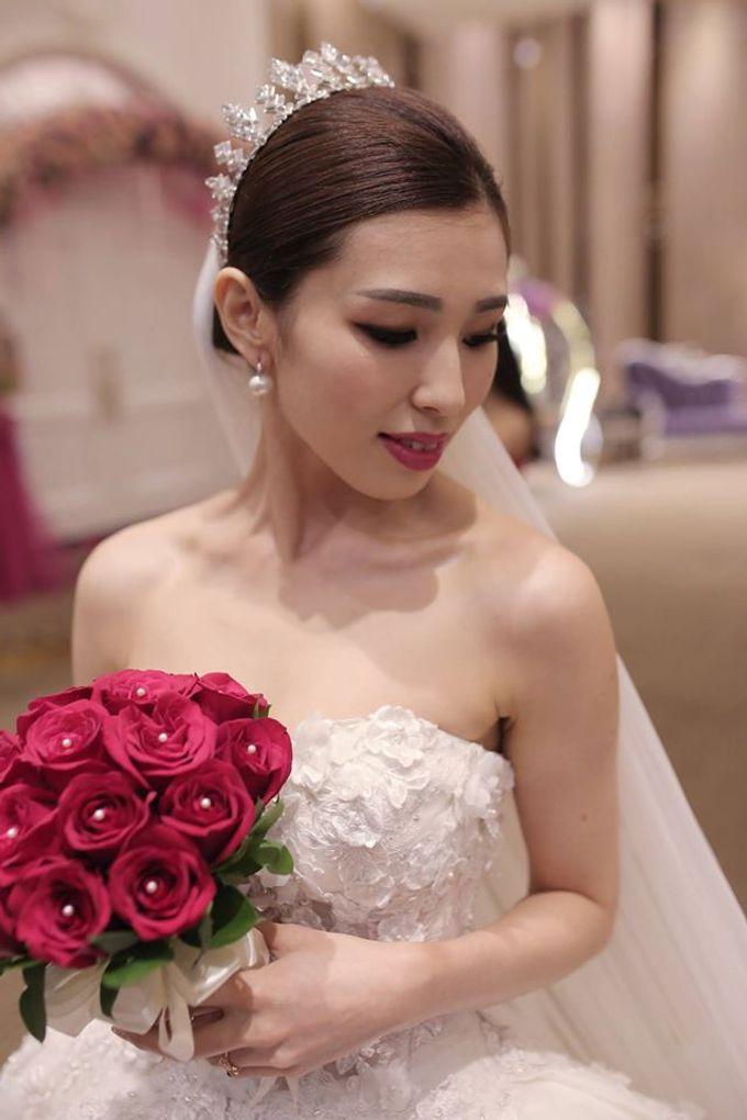 Bride  Christine Chan by Gelly Wee Makeup Studio - 012