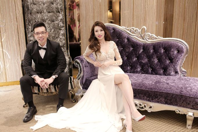Bride  Christine Chan by Gelly Wee Makeup Studio - 013