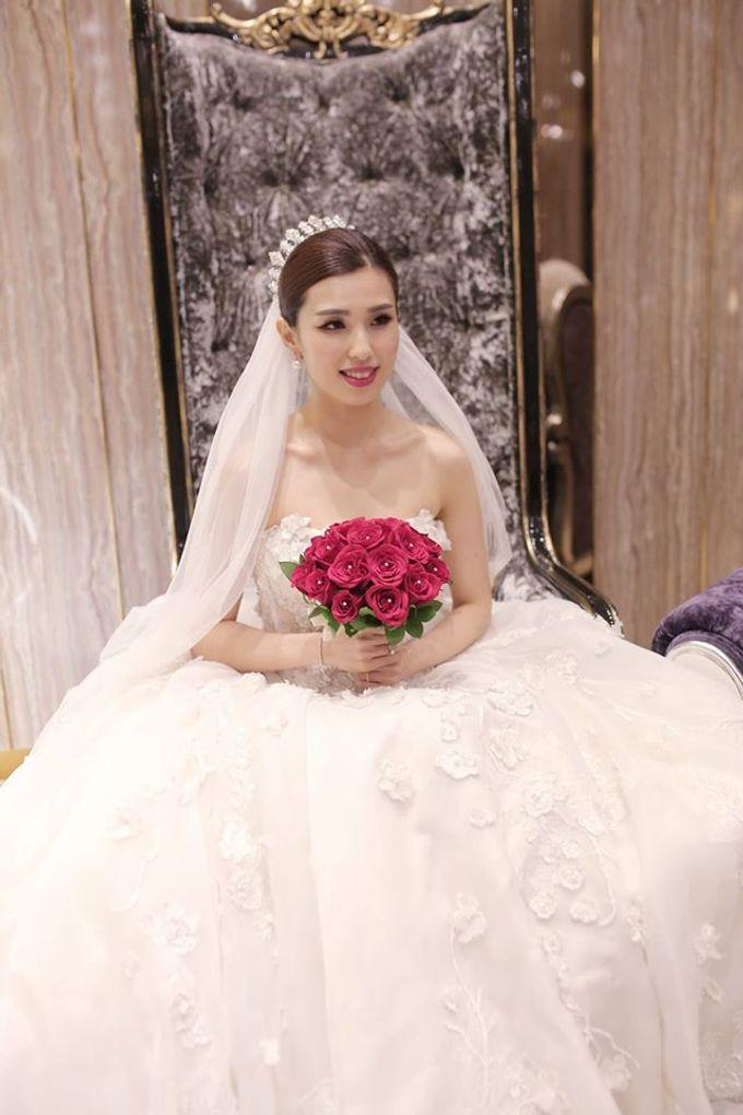 Bride  Christine Chan by Gelly Wee Makeup Studio - 016