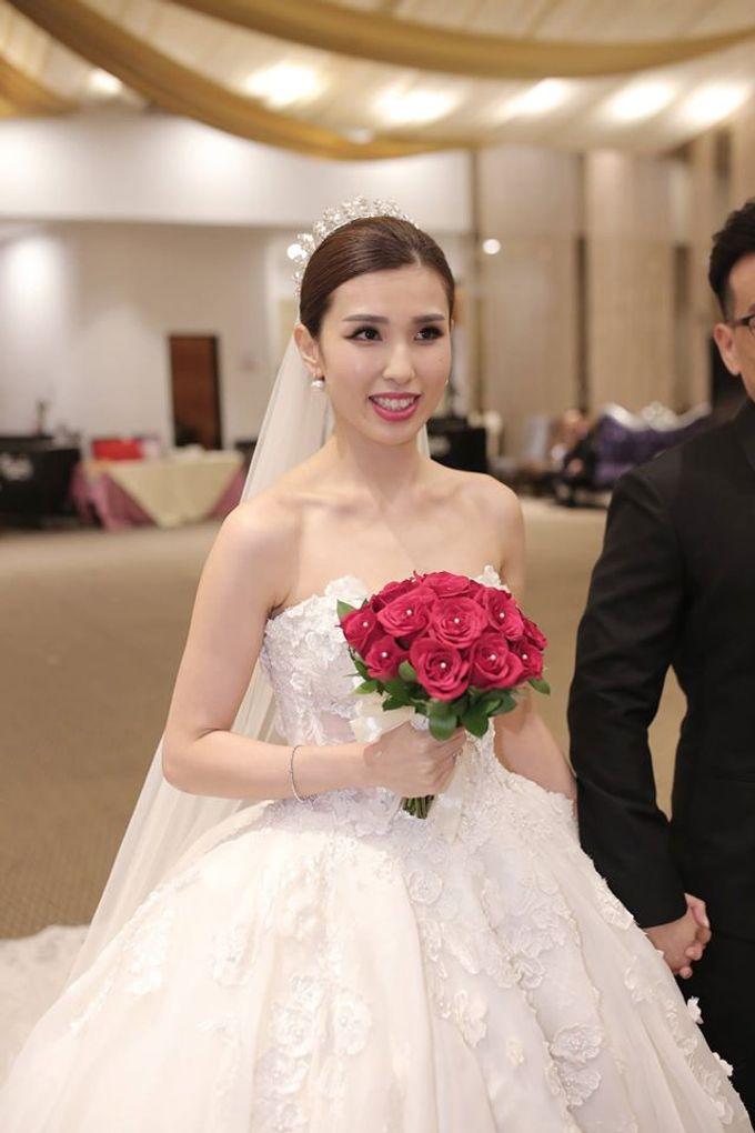 Bride  Christine Chan by Gelly Wee Makeup Studio - 017