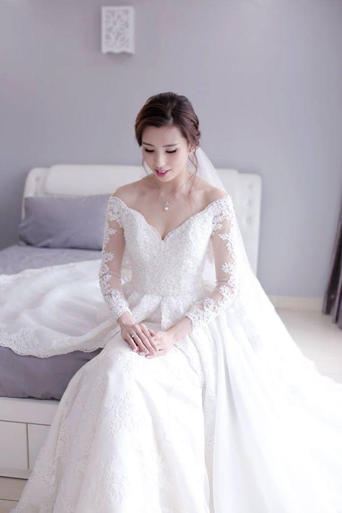 Bride  Christine Chan by Gelly Wee Makeup Studio - 018
