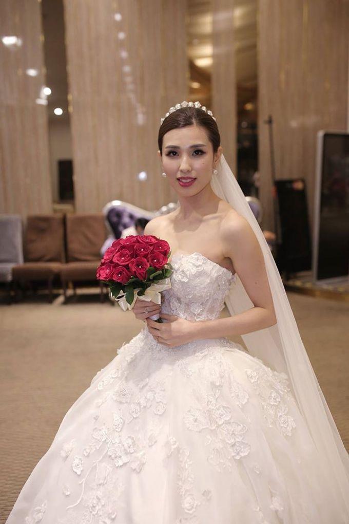 Bride  Christine Chan by Gelly Wee Makeup Studio - 019