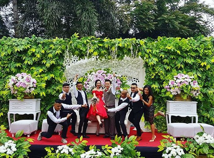 Jane & Wendy engagement party at Green Forest Resort Bandung by Gio Music Entertainment - 001