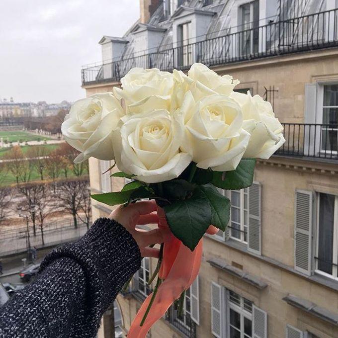 Bridal Hand Bouquet by Petite Fleur SG - 003