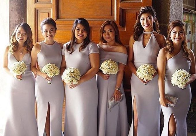 Customized Bridesmaids Dresses by White Label Bridal - 010