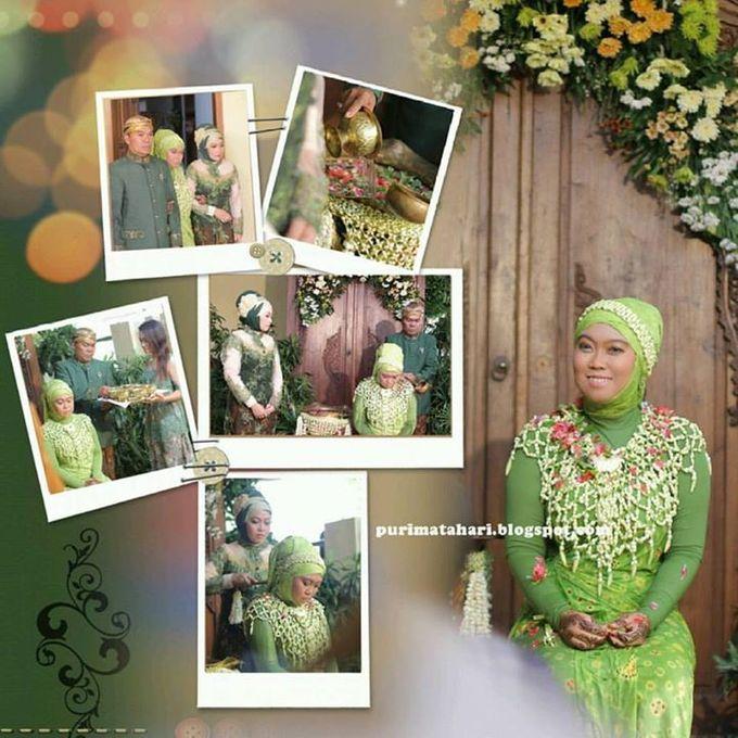 Pengantin Muslim by Puri Matahari Rias Pengantin - 020