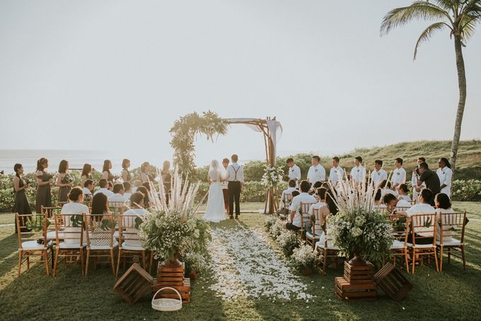 Bali Greenery Rustic with Boho Touch Wedding Decoration by Eurasia Wedding - 008