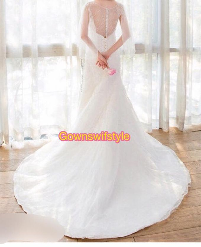 Beautiful Bridal Gowns by Makeupwifstyle - 012
