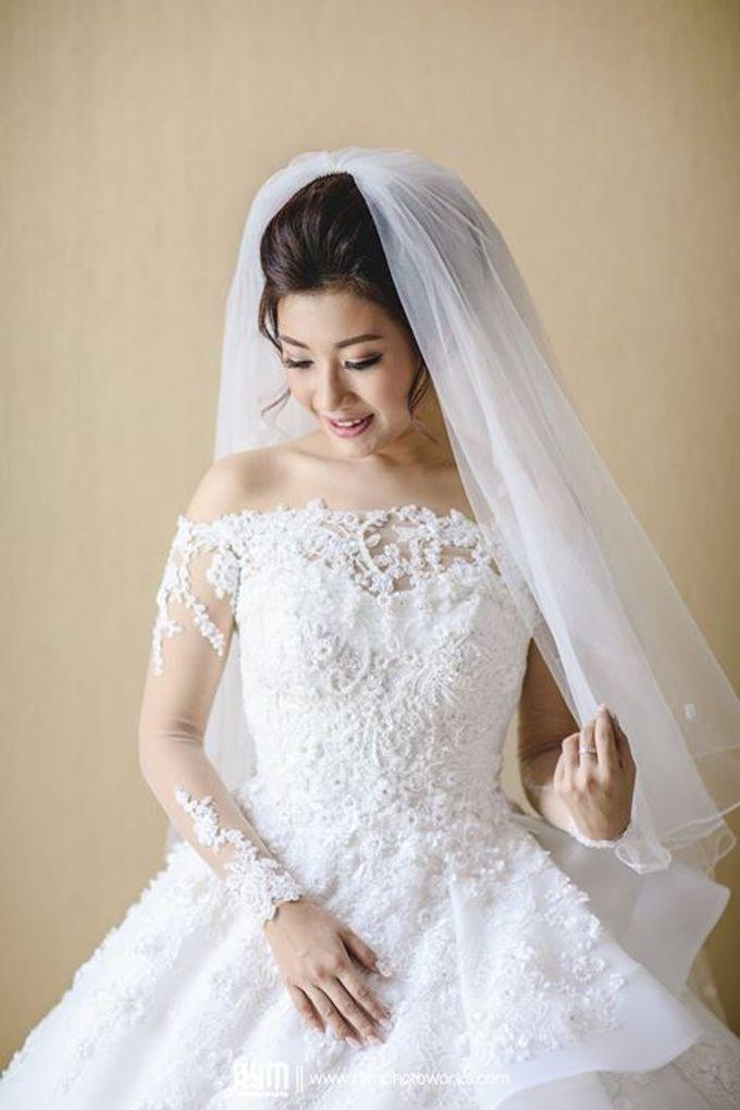 Edward & Winda wedding day by Mimi kwok makeup artist - 013