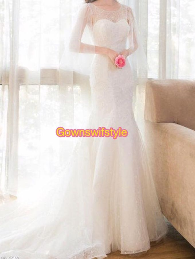 Beautiful Bridal Gowns by Makeupwifstyle - 013