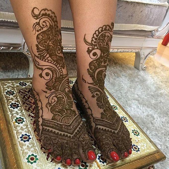 Bridal Henna - Intricate by Nakreze Mehndi - 028