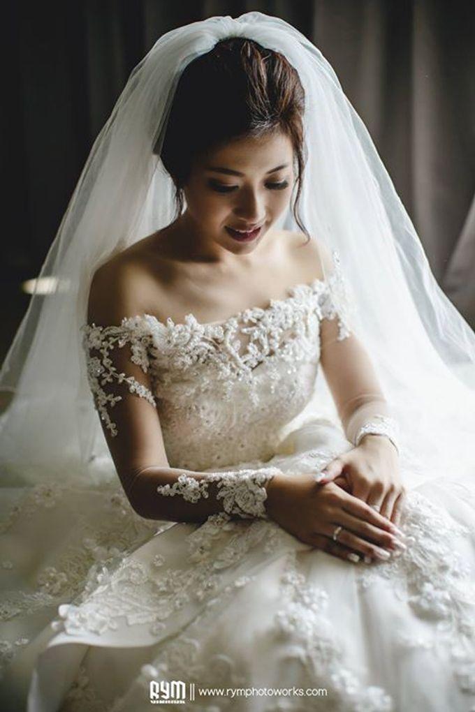 Edward & Winda wedding day by Mimi kwok makeup artist - 008