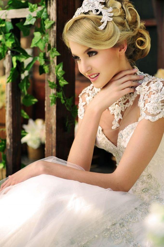 European Wedding Dresses by Gester Bridal & Salon Smart Hair - 001