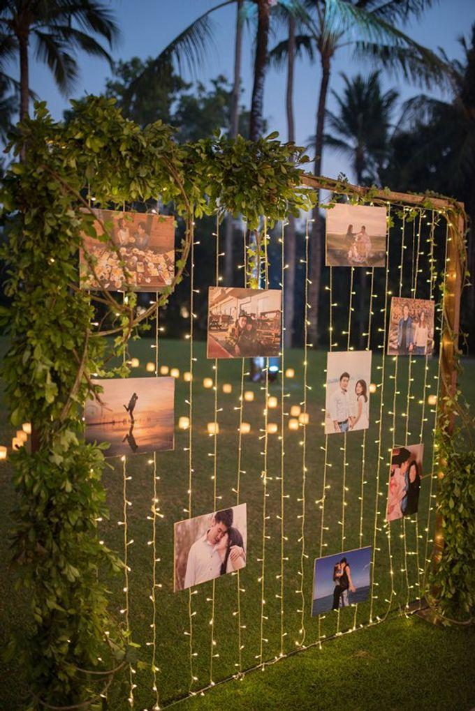 Rustic Decoration by Bali Izatta Wedding Planner & Wedding Florist Decorator - 009