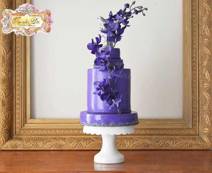 Wedding Cakes by Innicka Dee Cakes - 019