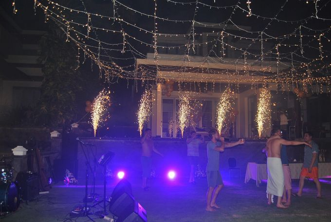 Fire works and lighting by Bali Angels - 011
