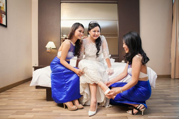Elit Condro and Fransisca - wedding by HD Photography - 006