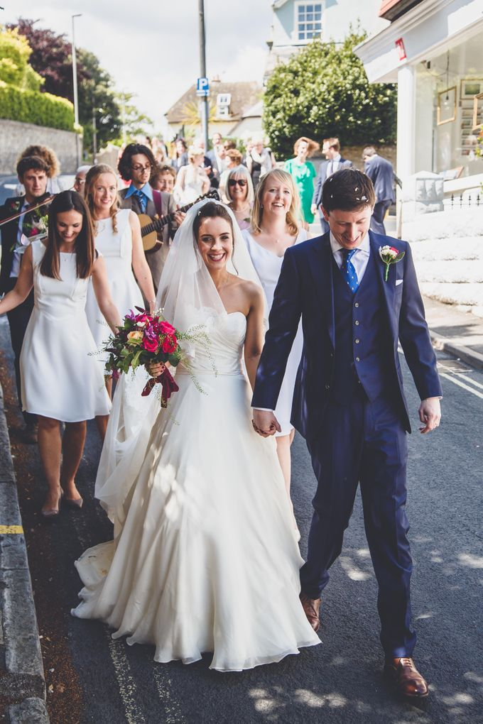 Clare and Ben's Marine Theatre wedding, Lyme Regis by Andrew George Photography - 015