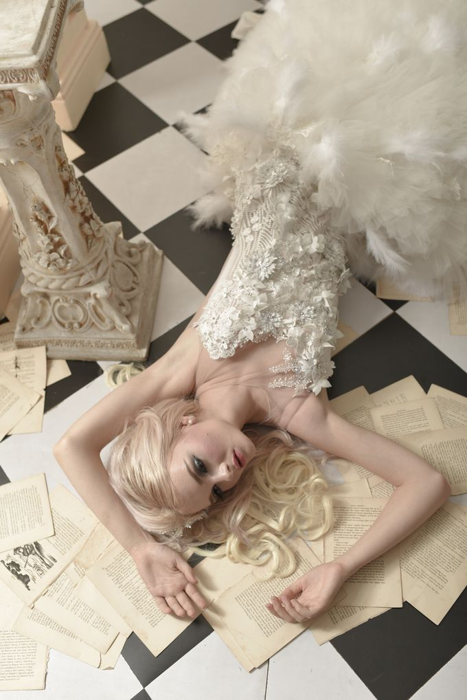 Parisian Fairy by Gazelle Brides - 020