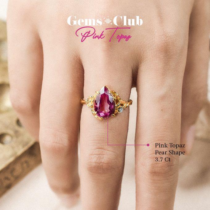 """Gemsclub """"Pink Topaz"""" by Tulola - 005"""