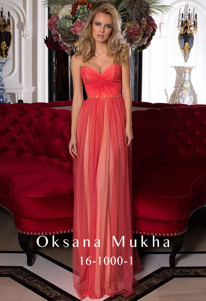 Evening dresses AW 2016-2017 by OKSANA MUKHA - 011