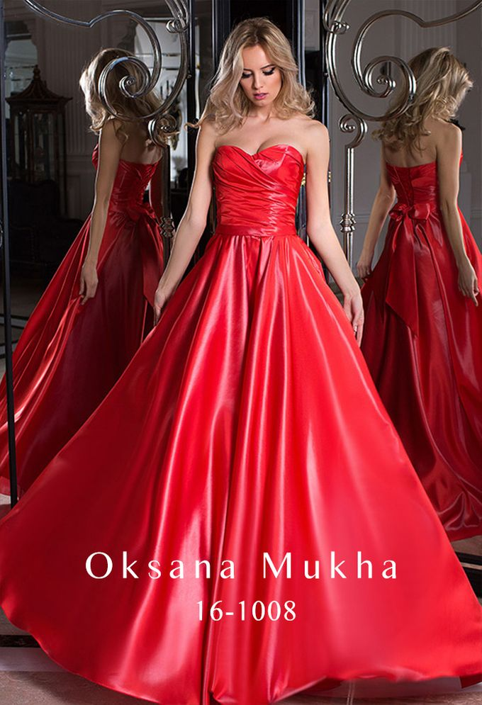 Evening dresses AW 2016-2017 by OKSANA MUKHA - 012