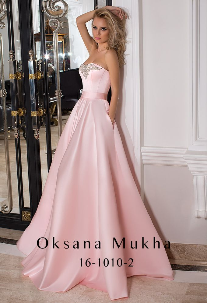 Evening dresses AW 2016-2017 by OKSANA MUKHA - 014