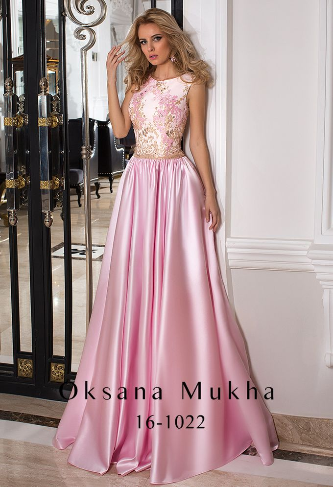 Evening dresses AW 2016-2017 by OKSANA MUKHA - 015