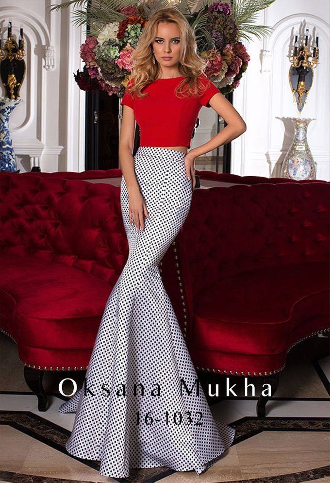 Evening dresses AW 2016-2017 by OKSANA MUKHA - 020
