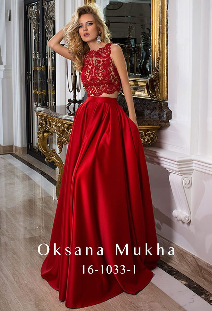 Evening dresses AW 2016-2017 by OKSANA MUKHA - 022