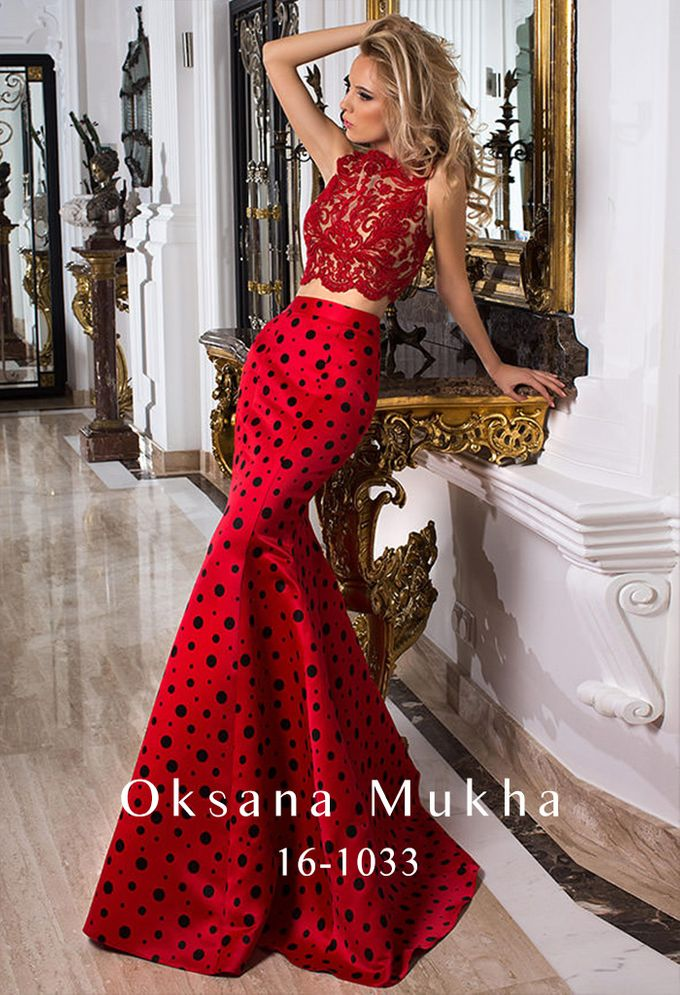 Evening dresses AW 2016-2017 by OKSANA MUKHA - 021