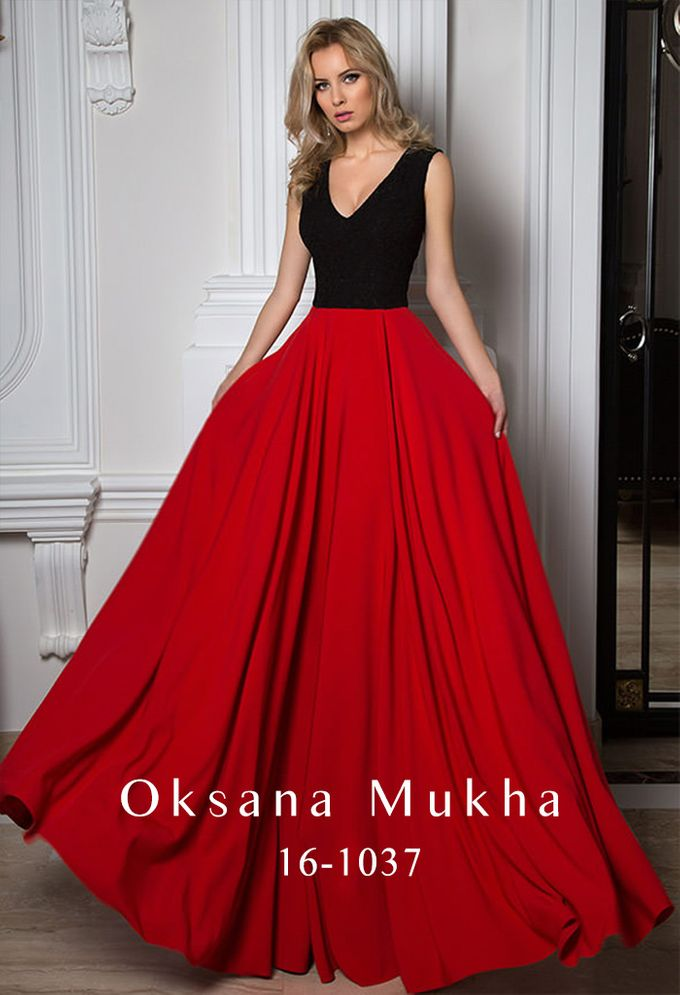 Evening dresses AW 2016-2017 by OKSANA MUKHA - 025