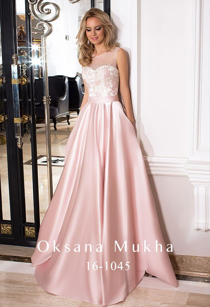Evening dresses AW 2016-2017 by OKSANA MUKHA - 026